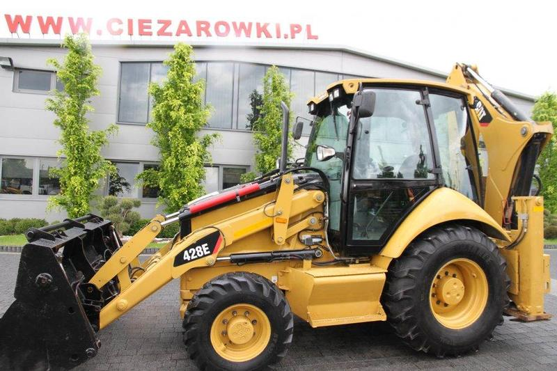 Caterpillar BACKHOE LOADER CAT 428E TURBO