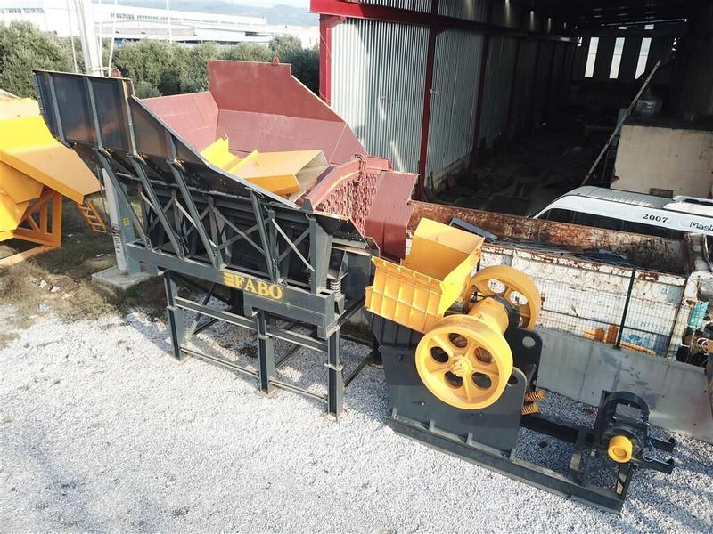 Fabo 200 TPH Second Hand Crushing & Screening Plant