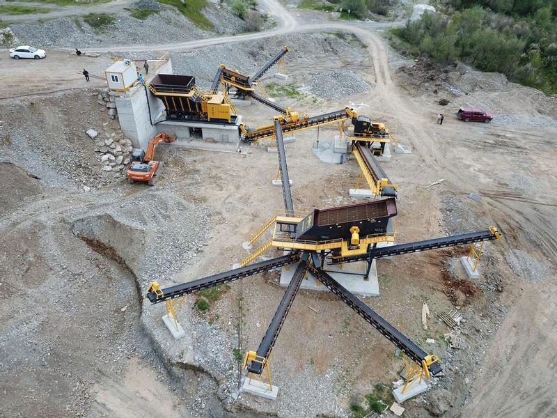 Fabo STATIONARY CRUSHING PLANT 250-300 TPH