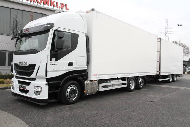 Iveco STRALIS 460 E6 VEHICULAR VOLUME SET MEGA LOW DECK