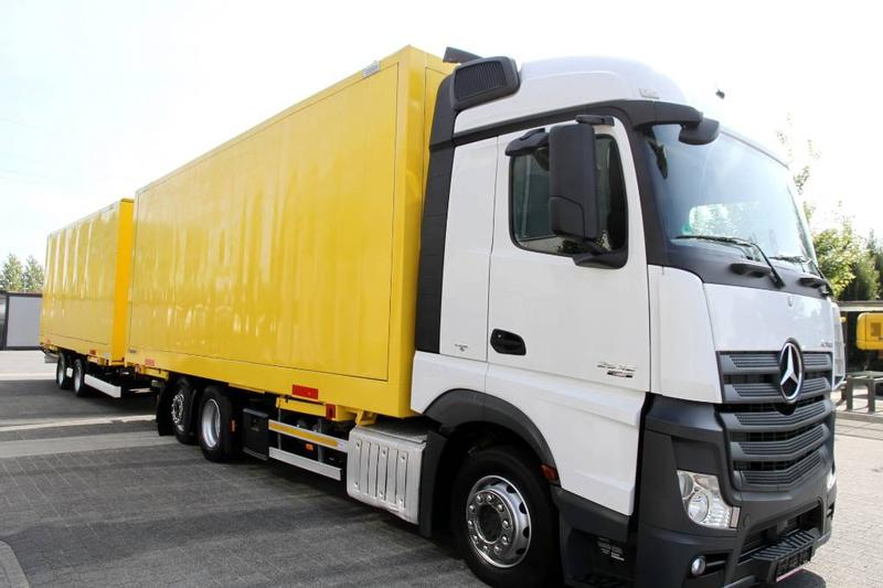 Mercedes-Benz SET JUMBO MEGA BDF ACTROS 2542 E6 BOX CONTAINER 2x
