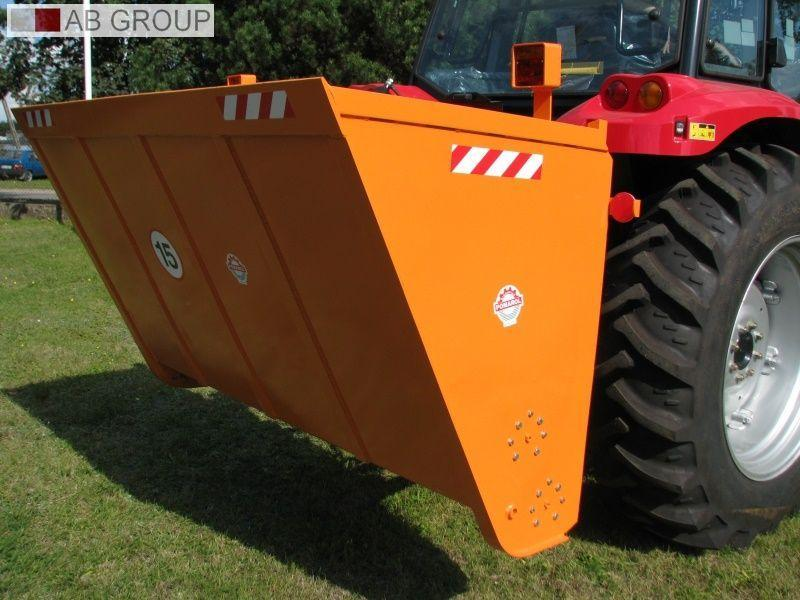 Pomarol Selbstlade Sandstreuer PS150 1,3m/Self-loading sand spreader