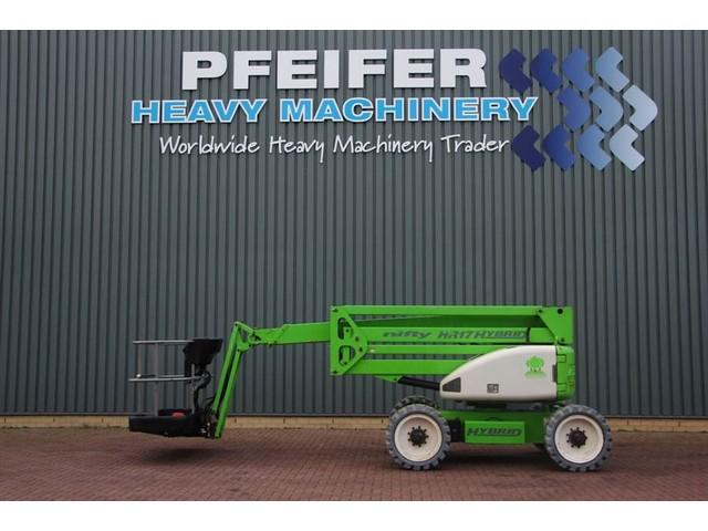 Niftylift HR17 HYBRID 4WD Hybrid, 17m Working Height, Non Ma
