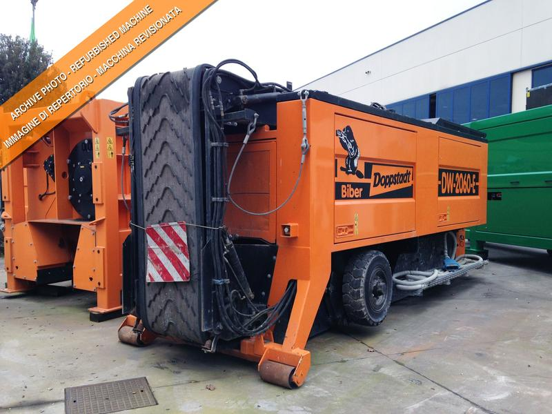 Doppstadt DW 2060 E Electric driven Ro-Ro
