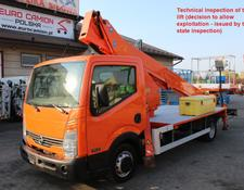 Nissan Cabstar 21 m CMC PLA 210 (technical inspection)