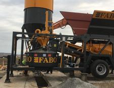 Fabo MOBILE CONCRETE BATCHING PLANT | HIGH QUALITY EQUIPMENT