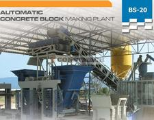Constmach CONCRETE BLOCK/BRICK MACHINE - BRAND NEW