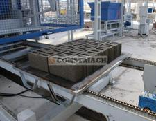Constmach BLOCK MAKING MACHINE - .10.000 pcs / day