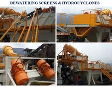 Constmach DEWATERING SCREEN CE CERTIFICATED READY TO DELIVERY