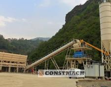 Constmach BRAND NEW, STATIONARY 100 m3h CONCRETE PLANT