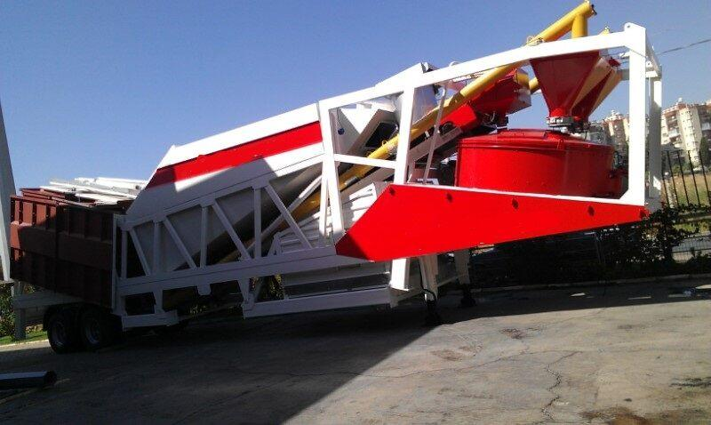 Fabo TURBOMIX-30M3/H MOBILE CONCRETE BATCHING PLANT | CALL NOW